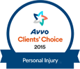 Avvo Client's Choice 2015 - Personal Injury